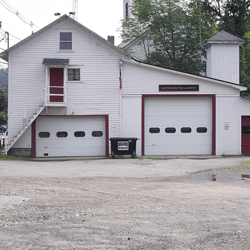 Saxtons River Village Fire Station